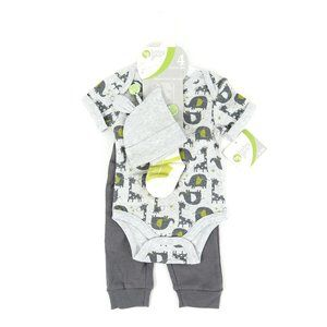 BABY GEAR matching set, boy's size 0-3M